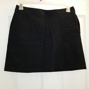 Dockers black skort NWT